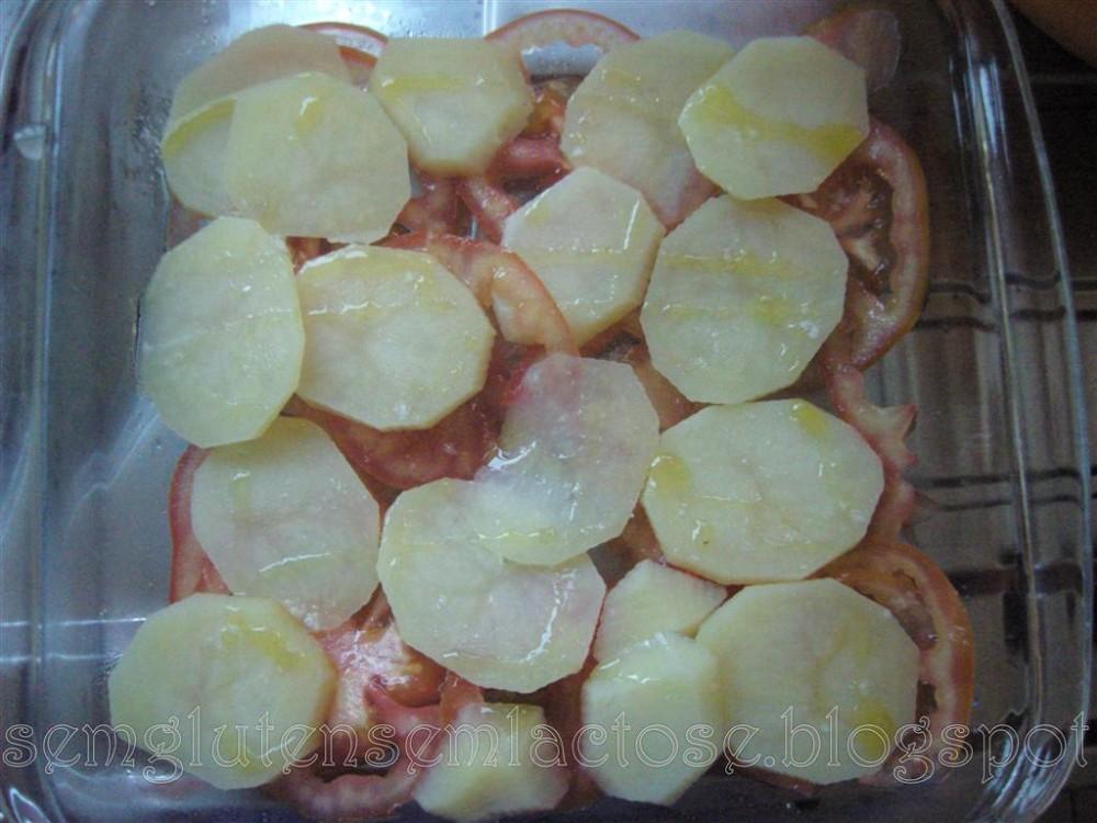 Filés de Tilápia ao forno sem glúten sem lactose