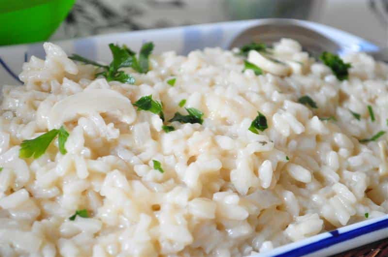 risoto de champignon