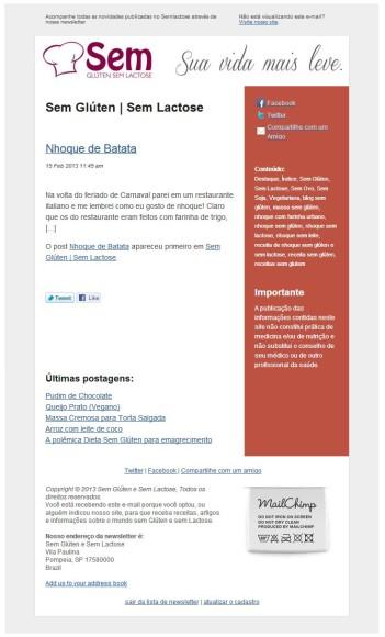 newsletter sgsl
