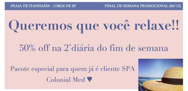 Spa Colonial Med 2013