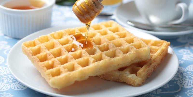 massa para waffle ou panqueca sem glúten