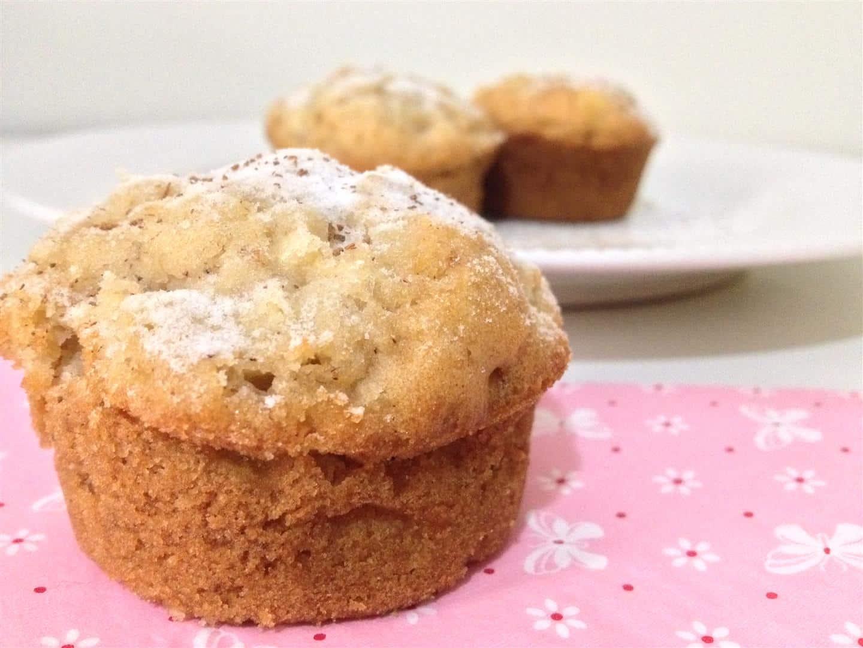 muffin de maça sem gluten