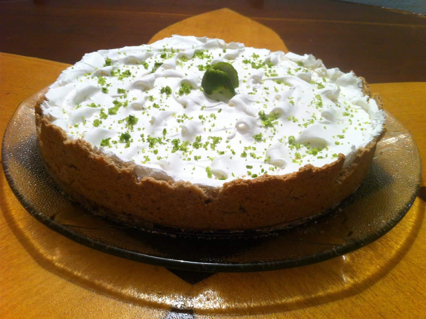 Torta de Limao Lactosil sem glúten sem lactose