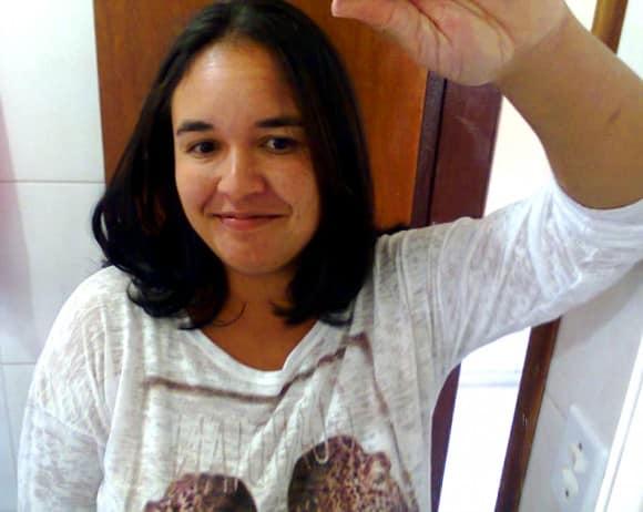 Josiane de Oliveira tem alergia à proteína do leite