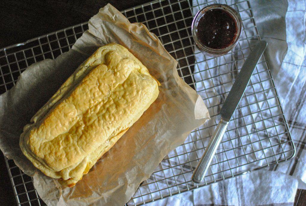 Pão de Mandioca Sem Glúten Sem Lactose Cima